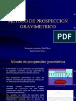 Metodo de Prospeccion Gravimetrico