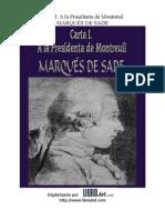 Marques de Sade - Carta i