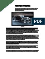 Evolución histórica del automóvil