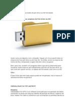 Recuperar arquivos excluídos do pen drive ou HD formatado