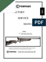 Crosman 160 Factory Service Manual
