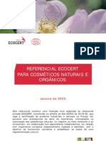 Ecocert- referencial de cosméticos orgânicos