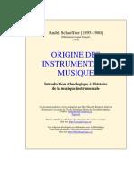 Schaeffner Origine Instruments Musique