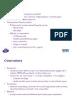 Danon Greek Survey Results Deck