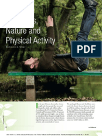 City Trees, Nature and Physical Activity