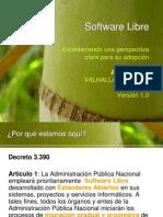 Valhalla Project Software Libre 1 0