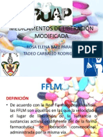 MEDICAMENTOS DE LIBERANCIÓN MODIFICADA
