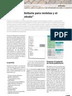 """La pauta publicitaria para revistas y el papel del """"contrato"""""""