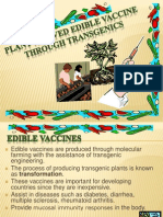Plant Derived Edible Vaccine Through Transgenics Powerpoint[1]