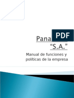 Manual de Funciones y Politicas