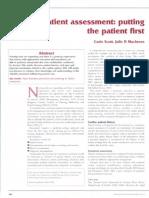 Cardiac Assessment Article