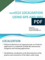Vehicle ion Using Gps and Imu Presentation