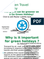 Go Green Adults
