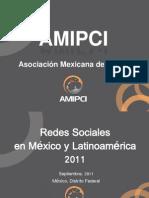 Estudio AMIPCI Redes Sociales en México 2011