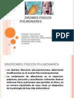 SINDROMES FISICOS PULMONARES