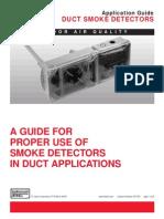 Smoke Sensor in AHU