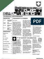 Seattle Swiss Society Newsletter - July 2011
