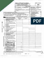 Alabama Toll Facilities IRS Filing 2008