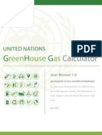 UN CArbon Calculator Manual