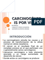 Carcinogenesis Por Virus-seminario 5