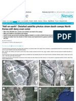 Detailed Satellite Photos Show Death Camps North Korea Still Deny Even Exist 2011