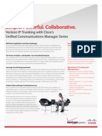 Sb Ip Trunking With Ciscos Unified Communications Manager Series en Xg