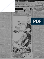 Early Parachute History (1921)