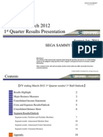 SEGA 2011 0801 IR Presentation Final