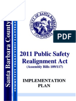 Implementation Plan of Public Safety Realignment