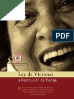 CARTILLA LEY DE VÍCTIMAS Y RESTITUCIÓN DE TIERRAS70