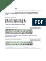 Frieze Patterns