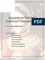 TANISHQ- Group 1 Corporate Communication M5th Batch