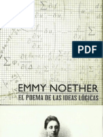 Programa Obra Teatral Emmy Noether