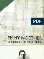 Programa Obra Teatral Emmy Noether