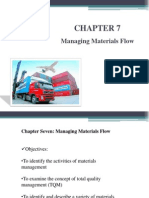 Chapter 7 Managing Materials Flow1