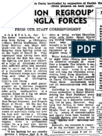 19710406 Smnd Operation Regroup by Bangla Forces