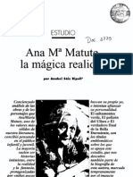 ESTUDIO DE MATUTE