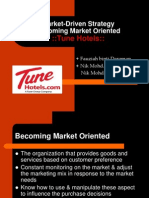 Market Driven Stratergy Tune Hotel