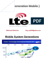 LTE ( 4th Generation Mobile )