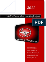 Balance Sheet of Larsen and Toubro