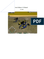Tower Defence Manual