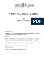 14 Mental Treatments by Ernest Holmes p