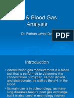 pH Blood Gas Analysis