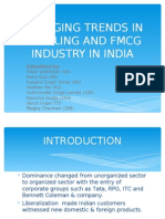 Trends in Retail & Fmcg Industry