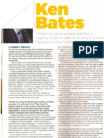 Ken Bates Programme Notes Leeds United vs Manchester United 20.9.11 P1