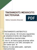 Tratamiento Meningitis Bacteriana