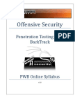 Penetration Testing With Backtrack