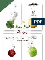 50 Raw Food Recipes