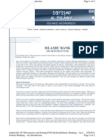 Islamic Banking - An Introduction
