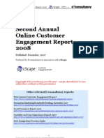 Customer Engagement Report 2008
